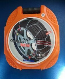NEW clack&go snow chains