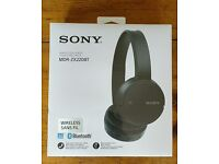 Sony MDR-ZX220BT wireless bluetooth headphones