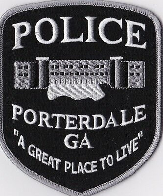 Porterdale Police Patch Georgia GA NEW!!