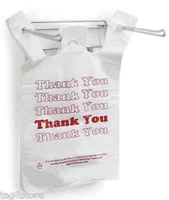 T-shirt Shopping Bag Holder Hanging Rack Retail Pos Stand Shopping Bags Grocery