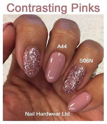 Bluesky A44 Musk Pink S06N Pink Rose Glitter Gel Polish Spring Best Sellers