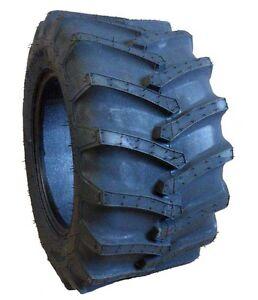 Two-New-23x10-50-12-Firestone-Flotation-23-Garden-Tractor-Lug-Tires