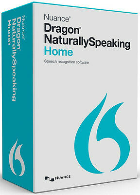 NUANCE Dragon Naturally Speaking Home 13 Version 13.0 W/ ...
