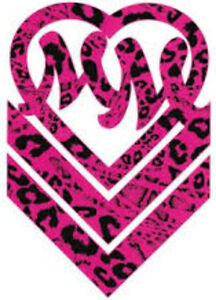 20-WATER-SLIDE-NAIL-ART-DECALS-TRANSFERS-PINK-W-STRIPES-METAL-MULISHA