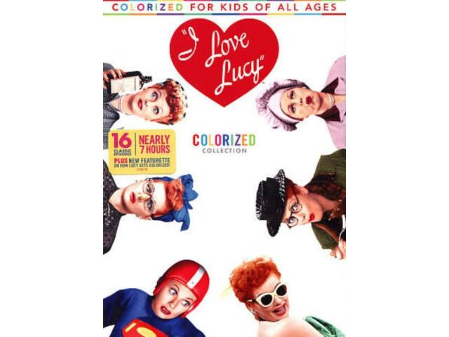 I LOVE LUCY: COLORIZED COLLECTION NEW DVD