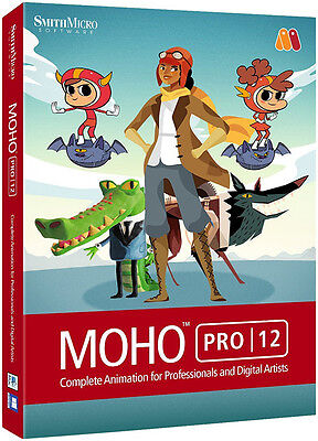 Smith Micro Moho Pro 12   New Retail Box   Mhp12hdvd