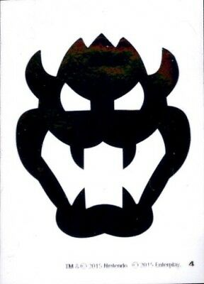 Super Mario Chrome Bowser Icon Dog Tag Decal Sticker #4