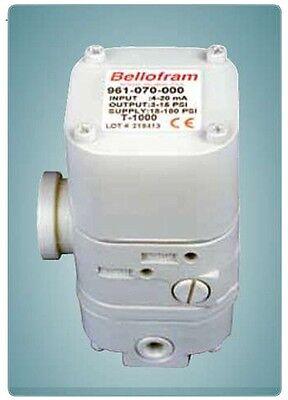 New Bellofram T-1000 Ip Transducer 961-070-000 4-20ma 3-15p Latest Revision