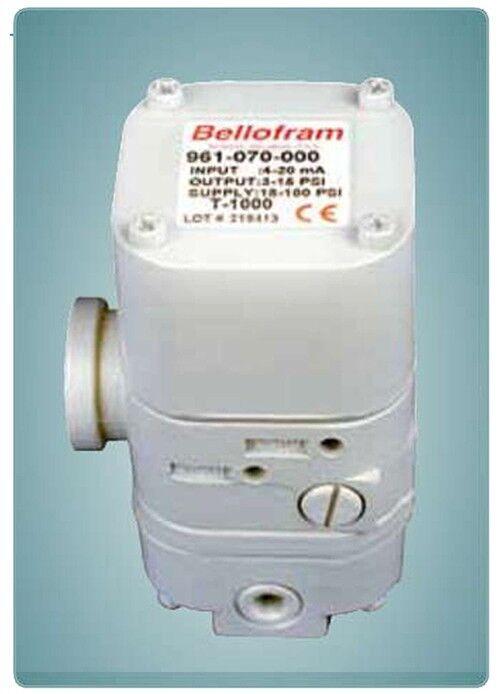 NEW BELLOFRAM T-1000 I/P Transducer 961-070-000 4-20mA 3-15p (LATEST REVISION!)