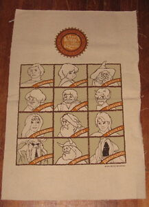 CLOTH-BANNER-unfinished-Lord-of-the-Rings-78-vtg-Bakshi-animated-movie-Tolkien