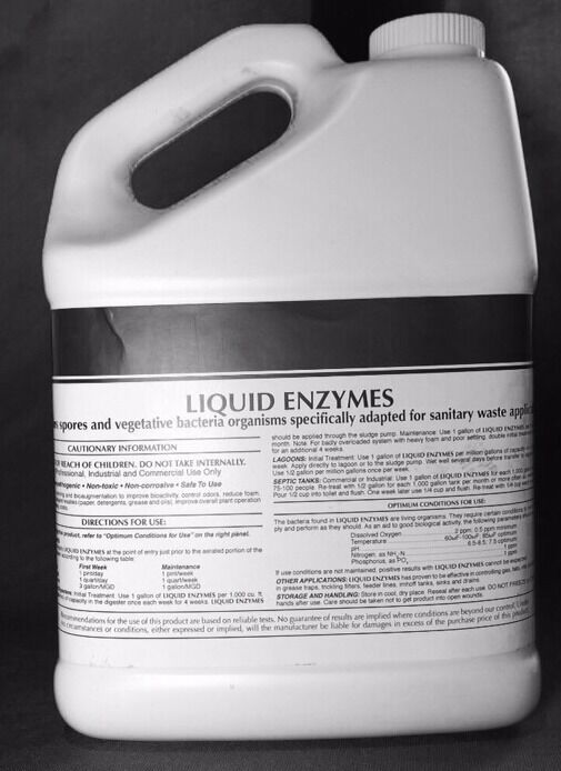 25 LBS SEPTIC SYSTEM ENZYMES BACTERIA AEROBIC ANAEROBIC POWDER SEWER DRAIN FIELD