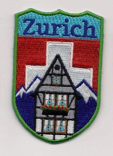 Zurich Switzerland Souvenir Patch