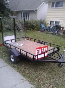 trailer with loading ramp*REDUCED FOR QUICK SALE*
