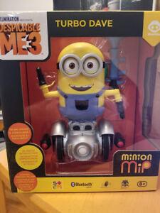 Brand New Turbo Dave - Despicable Me 3 WowWee Robotic Companion