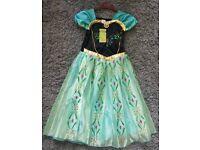 Brandnew Disney Frozen Anna 7-8 years Dress