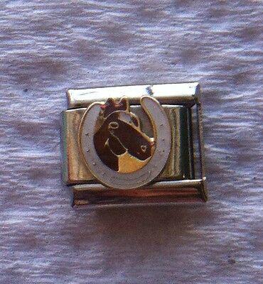 Horseshoe Italian Charm -