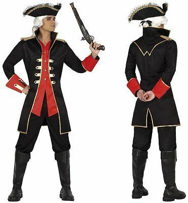 Kostüm Herren Capitaine Pirat XL Kostüm Erwachsene Kino film neu billig