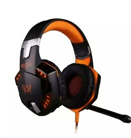 G2000 pro gaming headset NEW for latpop or PC stereo sound