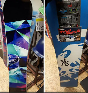 Never Summer Infinity 145cm snowboard