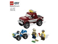 Lego City 4437 Police Pursuit BRAND NEW FACTORY SEALED BOX