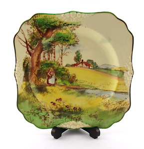 Vintage Royal Doulton Collectible Series Ware Plate 1930 D4422