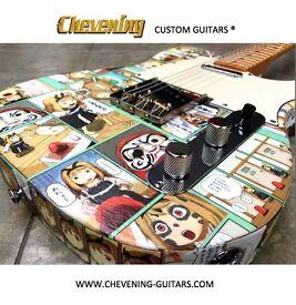 Custom Fender Telecaster - Manga Design - 52 vintage pickups