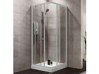 Plumbsure Bi-Fold Shower Door (W)760mm