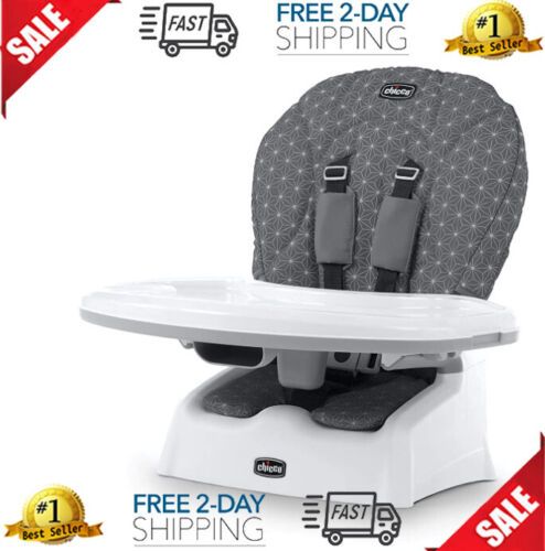 Chicco Snack Booster Seat, Grey Star