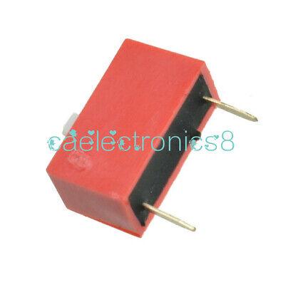 10pcs Red Slide Type Switch Module 1-bit 2.54mm 1 Position Way Dip Pitch Ca