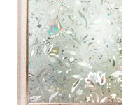 NEW Beautiful Privacy Frosted Window Film