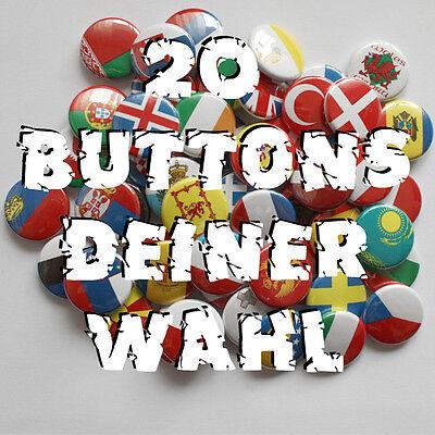 20 Buttons deiner Wahl !!! Button Badge Pin Angebot! Punk Gothic Metal FUN Rock