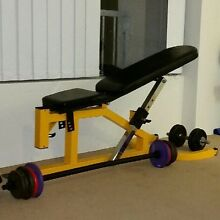 Adjustable Workout Bench Randwick Eastern Suburbs Preview