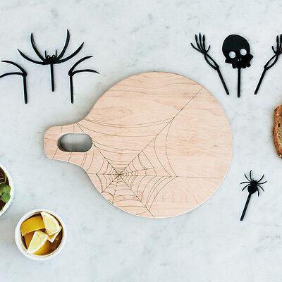 Martha Stewart Halloween Cake (AHeirloom: Maple Halloween Spiderweb Board & Cake)