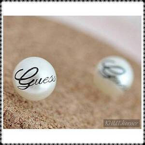 GUESS style Artificial Pearl Stud Earrings Ormeau Gold Coast North Preview