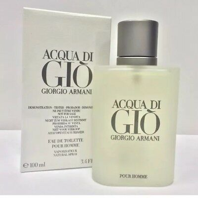 Acqua Di Gio By Giorgio Armani 3.4 oz / 100ml EDT Men Cologne Spray