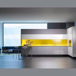 Glass Color Splashback On Site QUOTATION* Homebush West Strathfield Area Preview