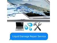 Apple Macbook Liquid Damage Spill Repair Service, warranty