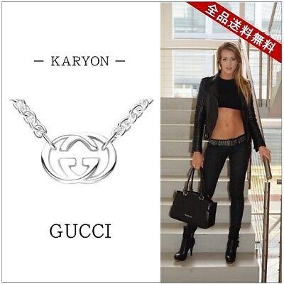 Gucci Trademark Silver 925 Pendant (Silver) Used