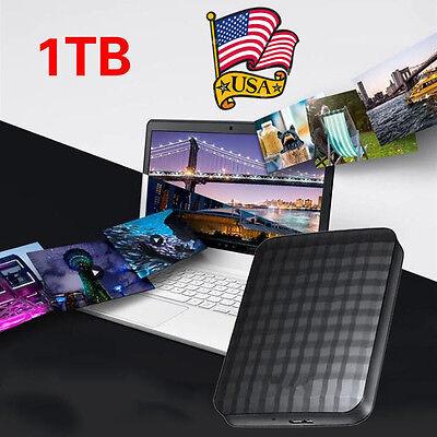 1TB Portable External Hard Drive Expansion USB 3.0 Games Storage Black