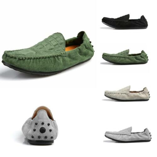 Chic Mens Leisure Slip On Moccasins Loafers Pumps Flat Gommino Walking Shoes New