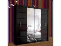 CRYSTAL WARDROBES !!WARDROBE AVAILABLE FREE AND FAST HOME DELIVERY!!