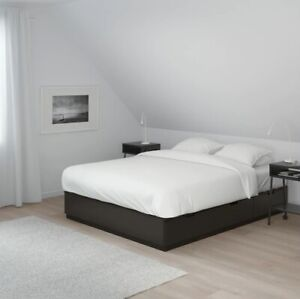 Ikea NORDLI bed frame with drawers - Queen