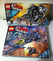 NEW Lego Movie Benny's Spaceship + Super Secret Police Dropship!