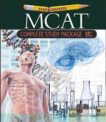 BRAND NEW 10th Edition Examkrackers MCAT Complete Study Package - Jonayhan Orsay