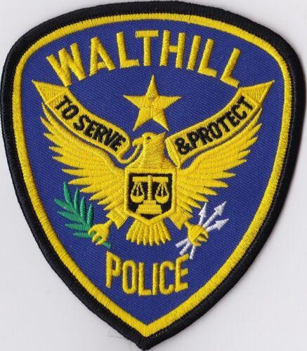 Walthill Police Patch Nebraska NE