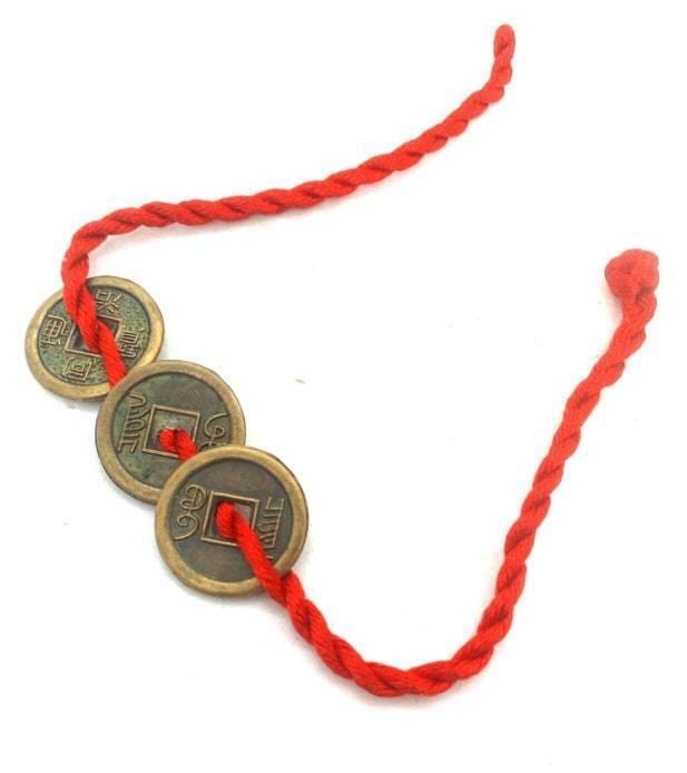 Feng Shui Good Luck Coins Bracelet