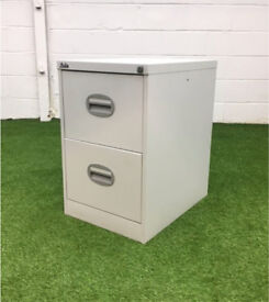 Silver line 2 drawer filing cabinet cheap office furniture Harlow London Essex