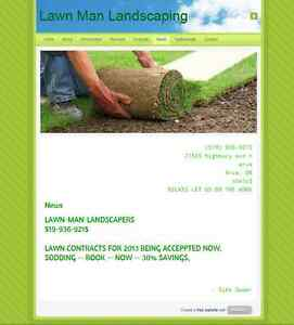 LAWN-MAN-LANDSCPERS  519-936-9215 London Ontario image 1