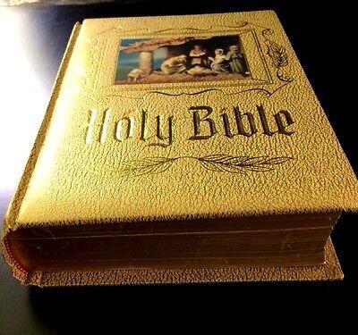 Heirloom Bible - Holy Bible Catholic Heirloom Edition New American Bible NAB Large Vintage Family