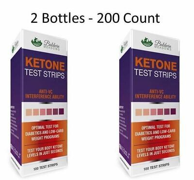 Ketone Urine Test Strips (200 Count!!) Best for Keto, Low Carb & Diabetic